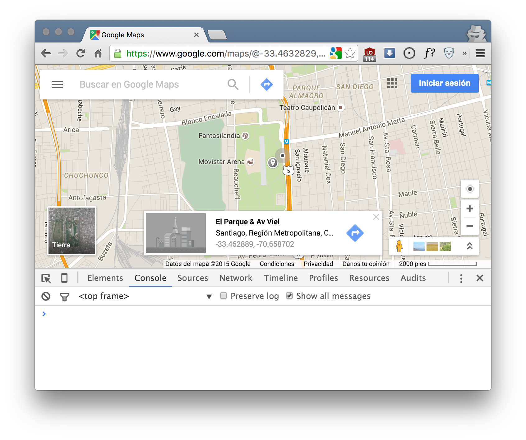 Get GoogleMaps com coordinates to clipboard on click